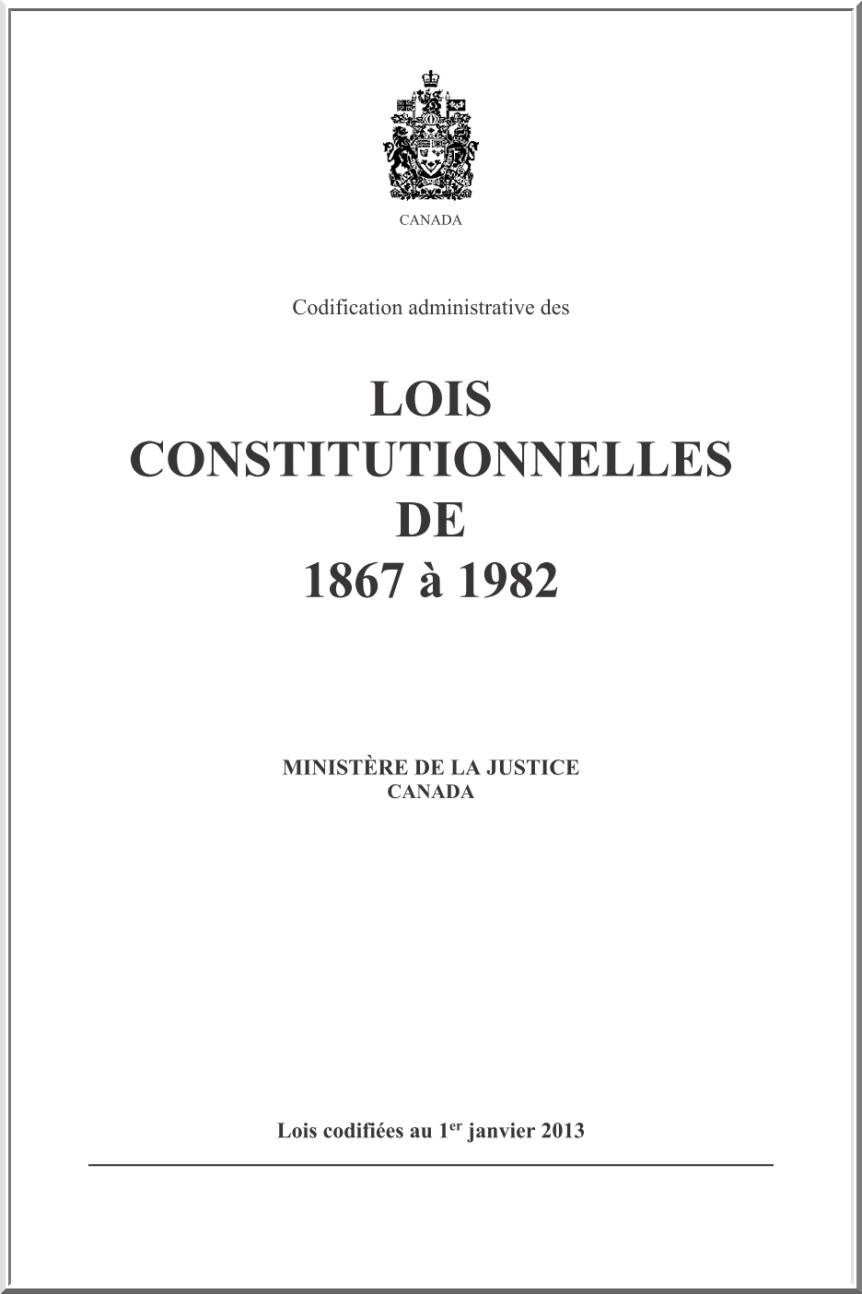 Cliquez ci-dessus pour lire la Constitution du Canada.